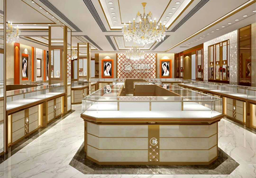 中国黄金珠宝柜